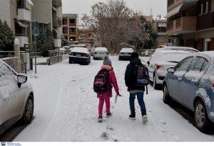 Κακοκαιρία: Ποια σχολεία θα είναι κλειστά αύριο