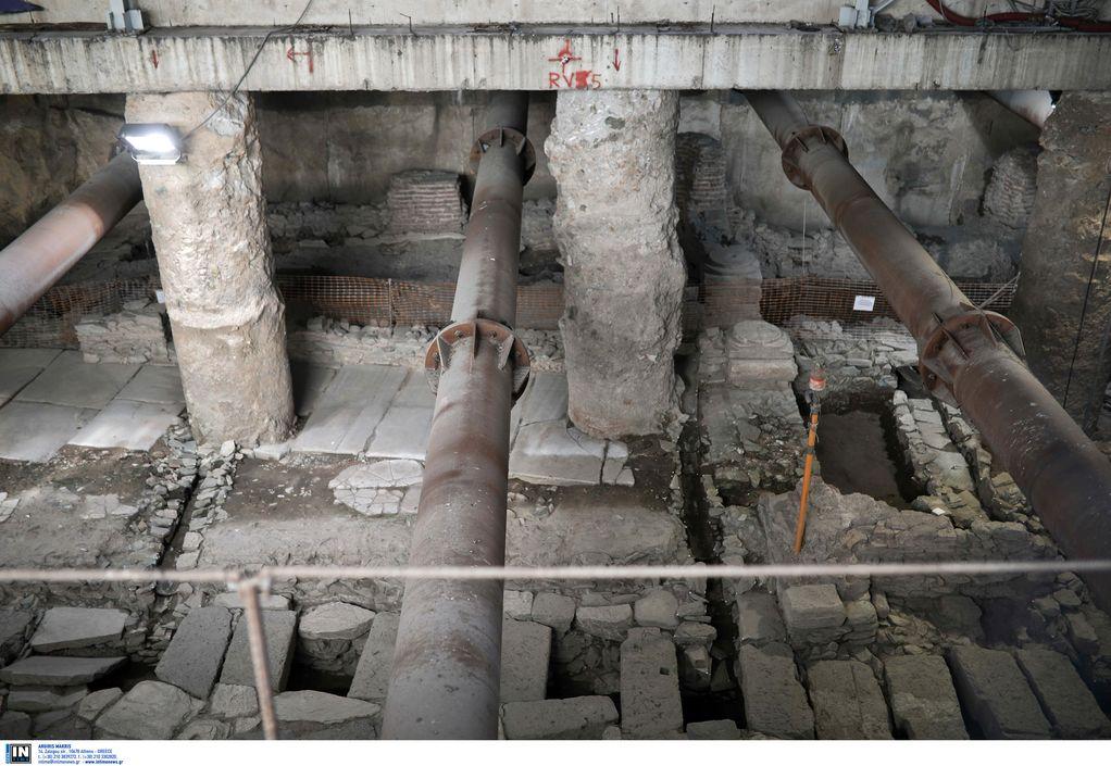 ΣΕΑ: Κινητοποιήσεις αύριο κατά της απόσπασης των αρχαιοτήτων στον σταθμό Βενιζέλου