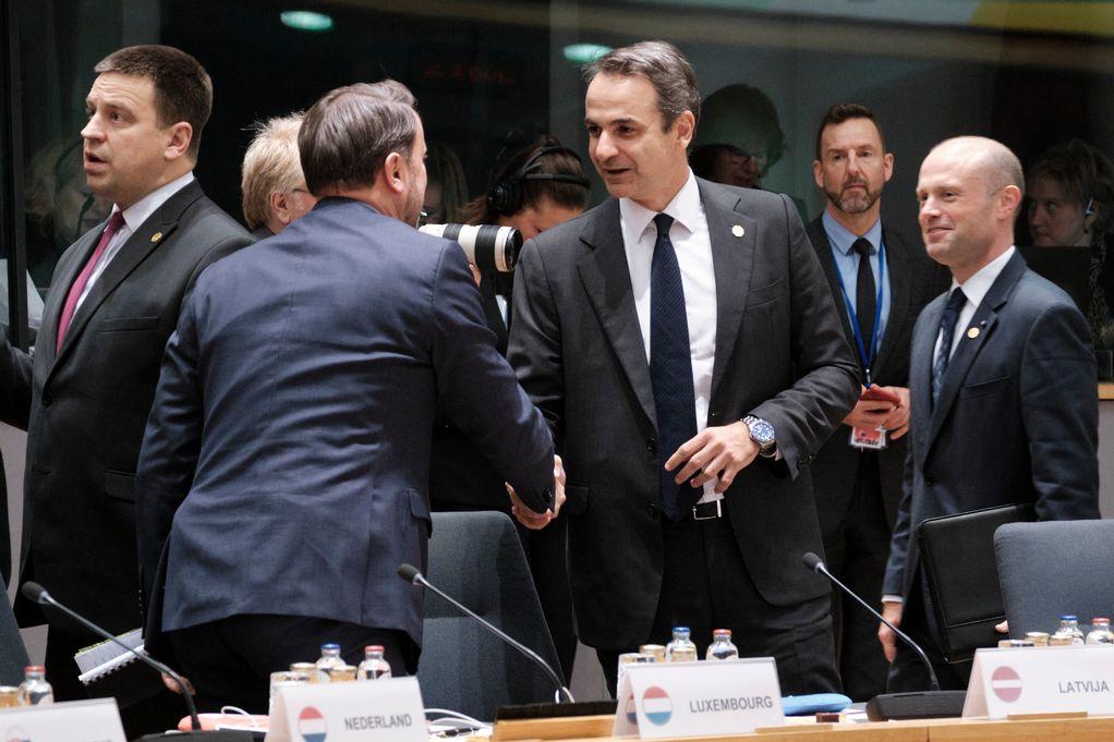 Μητσοτάκης: Η πρόταση της ΕΕ για την κλιματική αλλαγή είναι σημαντική