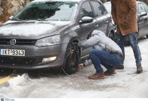 Δ. Μακεδονία: Σε ποια σημεία του οδικού δικτύου χρειάζονται αλυσίδες