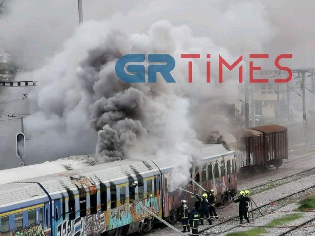 ΤΡΑΙΝΟΣΕ: Καθυστερήσεις σε δρομολόγια από τη φωτιά