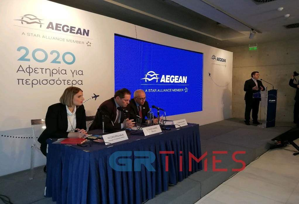 Αegean: Οκτώ νέες πτήσεις από Θεσσαλονίκη