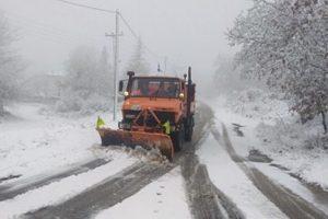 Χιόνια στα ορεινά Θεσ/νίκης-Χαλκιδικής (BINTEO)