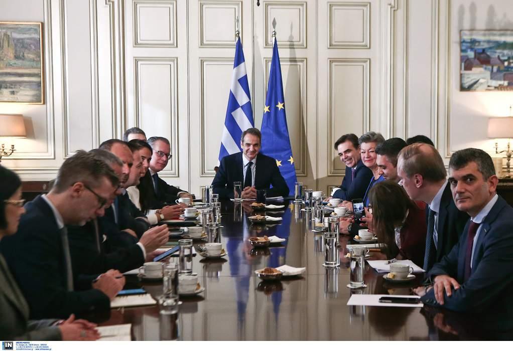 Μητσοτάκης για προσφυγικό: Η Ελλάδα στηρίζεται στην Ευρώπη