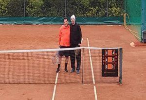 Άδ. Γεωργιάδης και Β. Τσιάρτας έπαιξαν τένις (ΦΩΤΟ)
