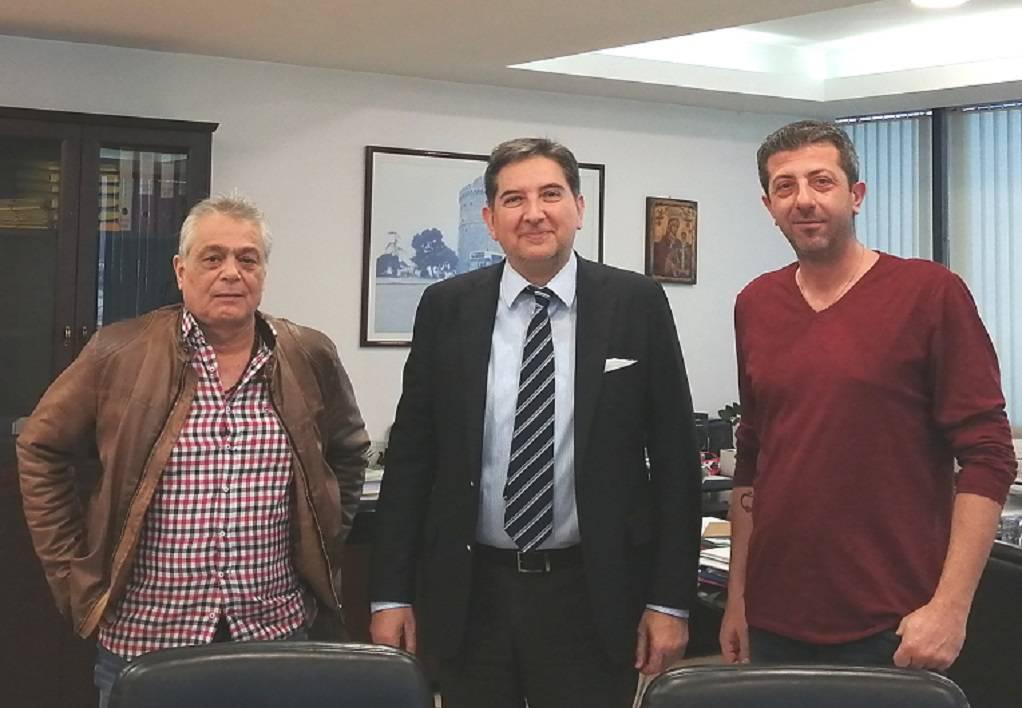Διπλή επίσκεψη προέδρου ΕΚΘ στον ΟΑΣΘ