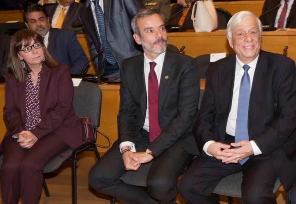 Οι ευχές του Ζέρβα στη νέα πρόεδρο της Δημοκρατίας