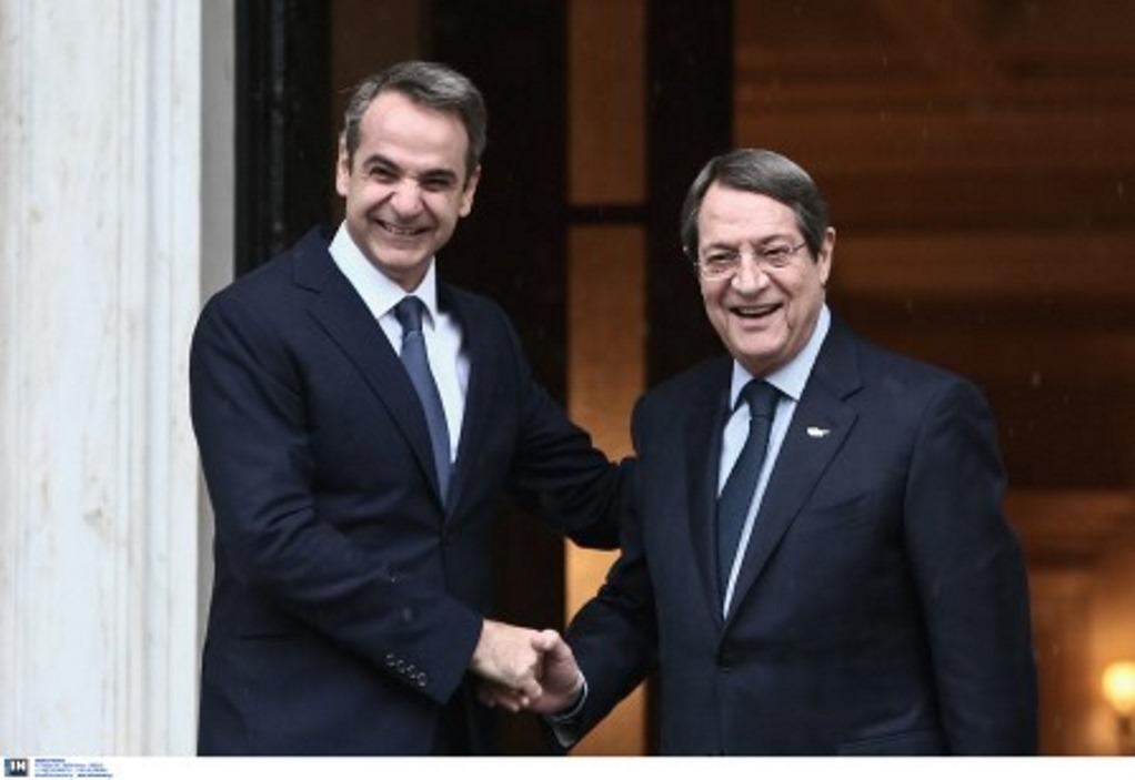 Αναστασιάδης: Άριστη η συνεργασία με την ελληνική κυβέρνηση