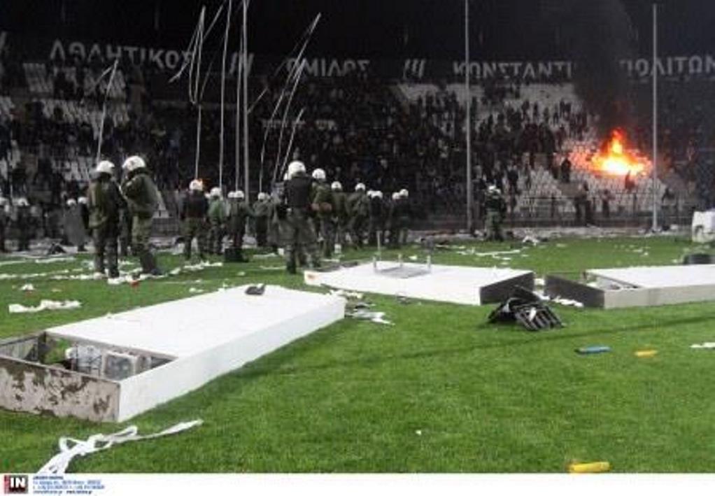 Καταδικάστηκαν 4 οπαδοί για επεισόδια σε αγώνα ΠΑΟΚ- Ολυμπιακού