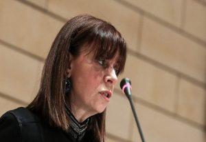 Σακελλαροπούλου: Στο πρόσωπό μου τιμάται η σύγχρονη Ελληνίδα