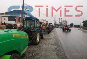 Μπλόκο αγροτών σήμερα στη Θεσσαλονίκη