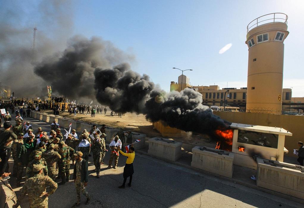 Ιράκ: Ρουκέτες κοντά στην πρεσβεία των ΗΠΑ