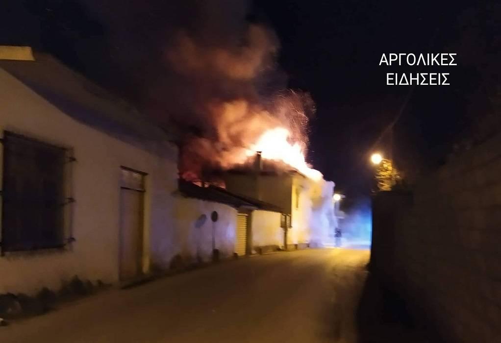 Αργολίδα: Νεκρά τα αδέρφια από τη φωτιά στο σπίτι τους!