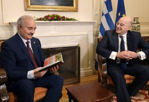 Δένδιας: Η Ελλάδα είναι έτοιμη να στηρίξει τη Λιβύη