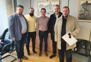 ΕΕΘ: Συνάντηση με τον Αντιδήμαρχο Οικονομικών Μιχ. Κούπκα