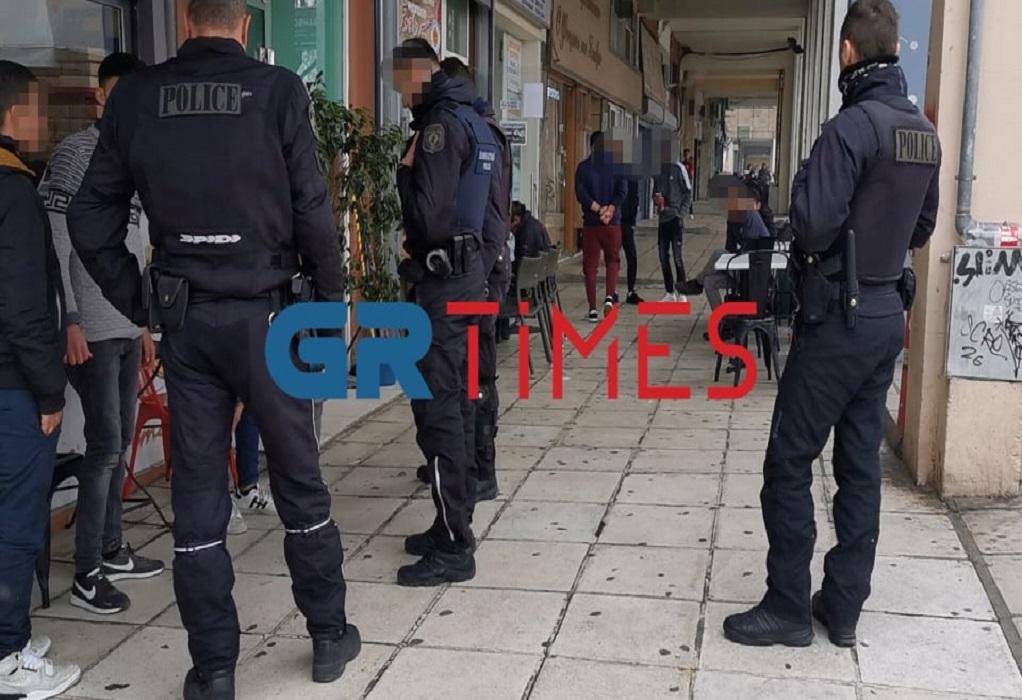 Θεσσαλονίκη: Νέο επεισόδιο μεταξύ αλλοδαπών (ΦΩΤΟ)