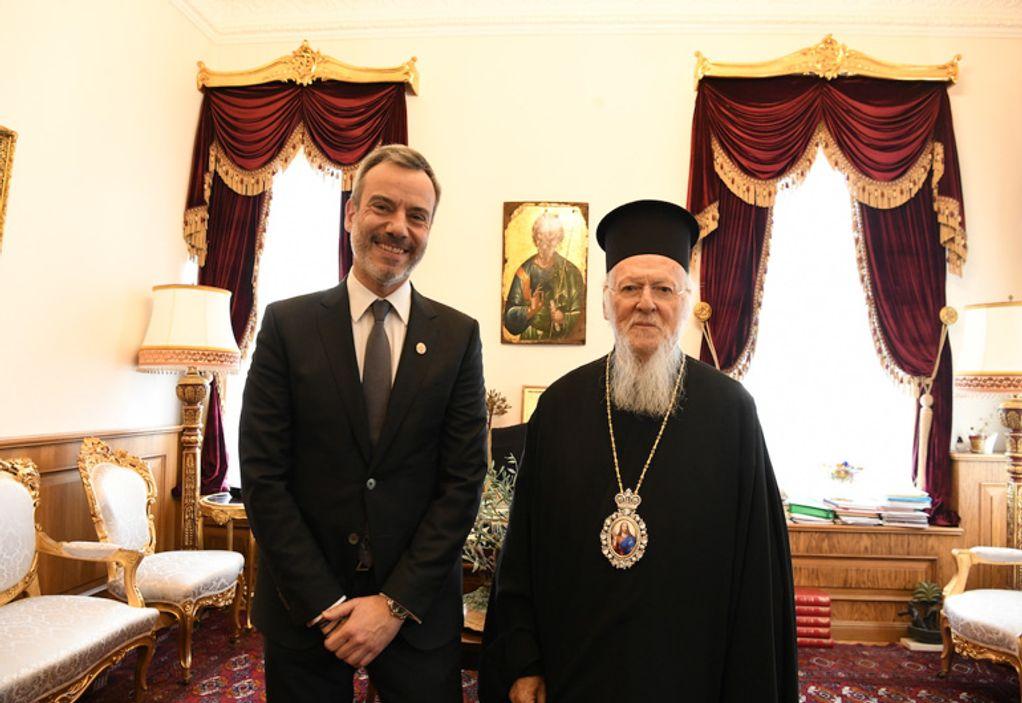 Συνάντηση Βαρθολομαίου – Ζέρβα στο Φανάρι (ΦΩΤΟ)