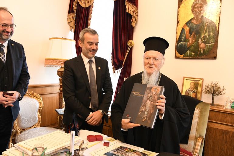 Ο Κωνσταντίνος Ζέρβας με τον Βαρθολομαίο