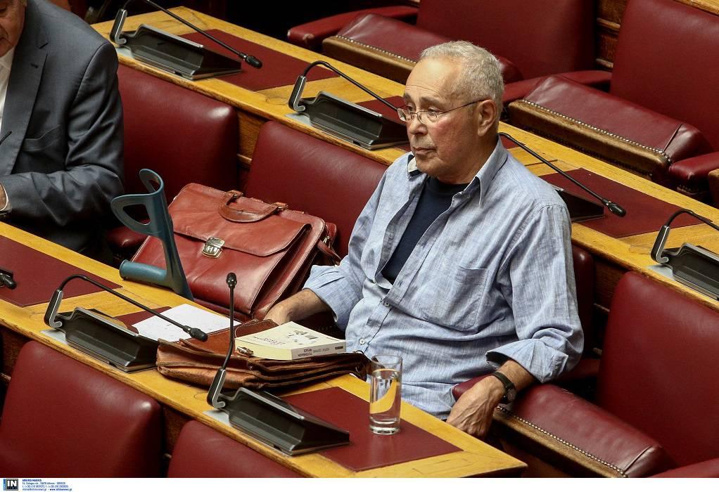 Ζουράρις για Κουφοντίνα: Αν επιμείνει η κυβέρνηση θα πρόκειται περί κρατικού φόνου! (ΗΧΗΤΙΚΟ)