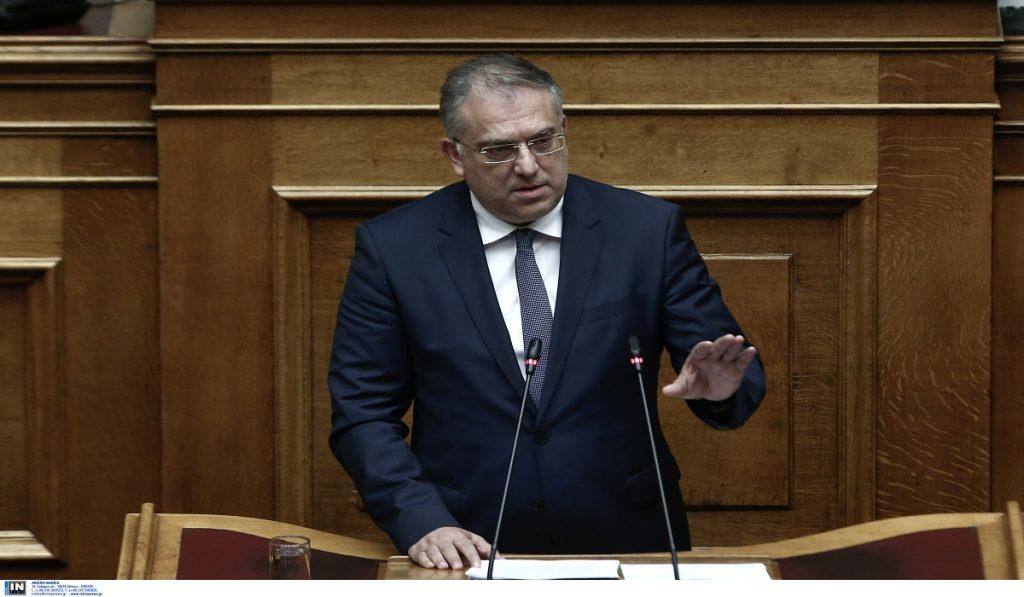 Θεοδωρικάκος: Ο Τσίπρας φοβάται το κυβερνητικό παρελθόν του