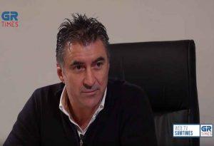 Θ. Ζαγοράκης στο GRTIMES: Ο ΠΑΟΚ θα πάρει και φέτος το πρωτάθλημα (VIDEO)