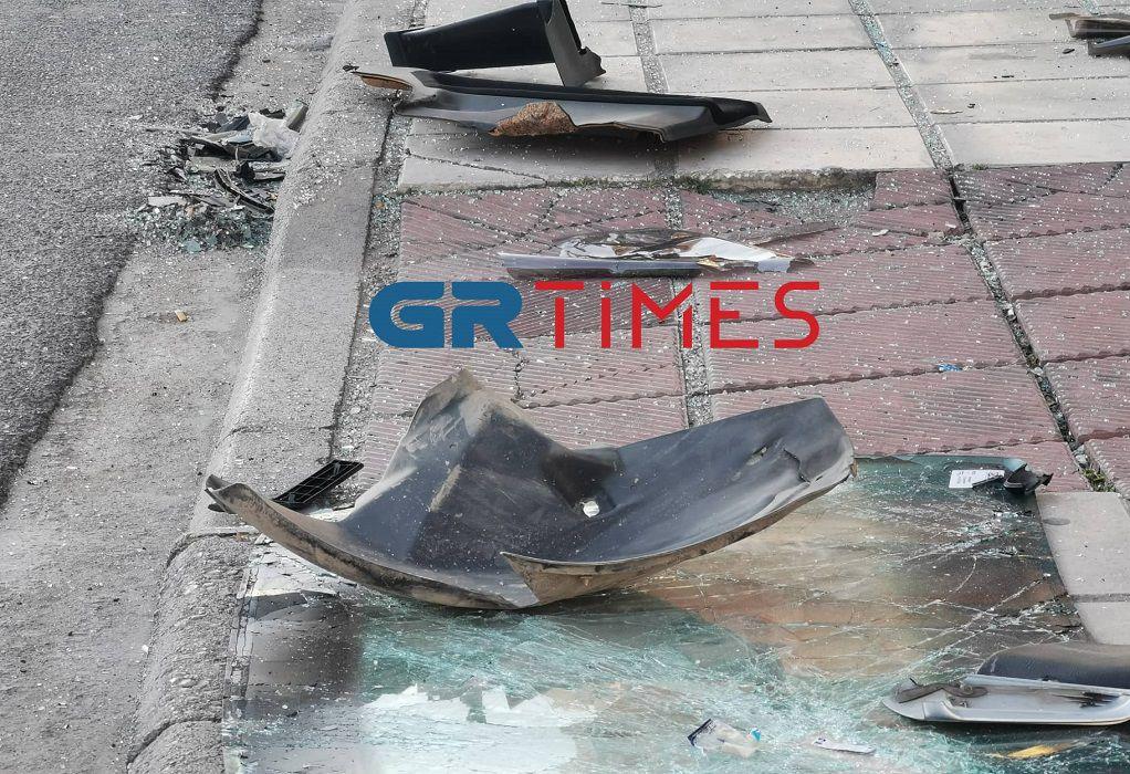 Θεσσαλονίκη: Σύγκρουση οχημάτων στη Λεωφόρο Γεωργικής Σχολής