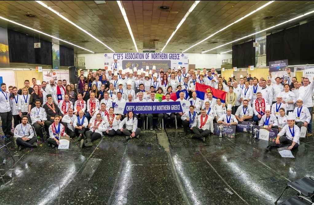 Η Λέσχη Αρχιμαγείρων Β. Ελλάδος πάει στους Ολυμπιακούς