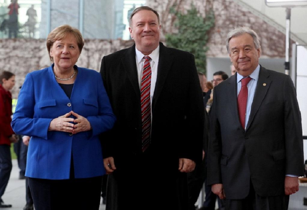 Άρχισε η Διάσκεψη του Βερολίνου για τη Λιβύη