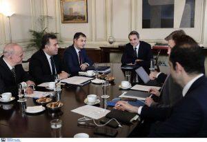 Συνάντηση Κ. Μητσοτάκη με την ηγεσία του υπ. Τουρισμού