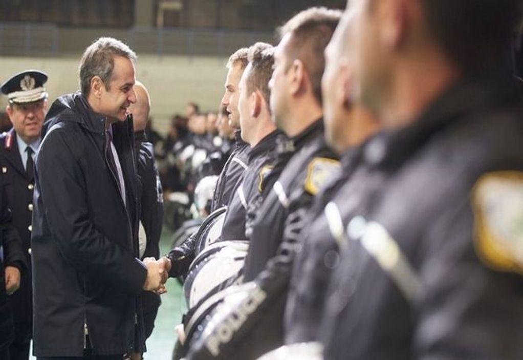 Μητσοτάκης: 1.500 νέοι ειδικοί φρουροί στους δρόμους