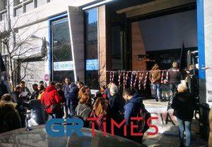 Θεσ/νίκη: Συγκέντρωση διαμαρτυρίας της ΟΜΕ -ΟΤΕ