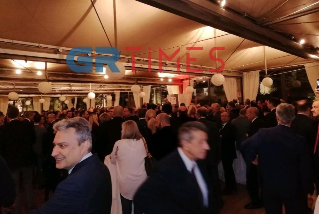 Πάρτι στην κοπή πίτας του ΕΒΕΘ και του Ελληνοιταλικού Επιμελητηρίου