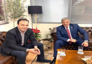 Γ. Πατούλης: Συνάντηση με τον διάδοχό του στην ΚΕΔΕ