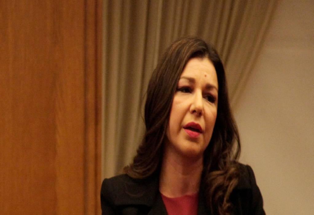 Η Α. Πελώνη αναπληρώτρια κυβερνητική εκπρόσωπος