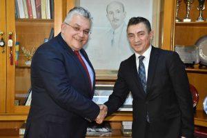 Συνάντηση πρύτανη ΑΠΘ με Τούρκο πρόξενο