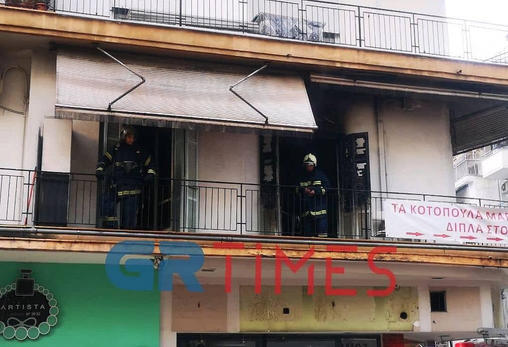 Θεσ/νίκη: Φωτιά σε διαμέρισμα- Εκκενώθηκε πολυκατοικία (ΦΩΤΟ-ΒΙΝΤΕΟ)
