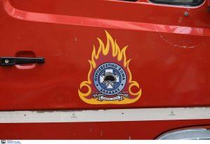 Καλαμαριά: Φωτιά σε ημιυπόγειο εργαστήριο