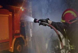 Μεγάλη φωτιά στην Ηλεία (VIDEO)
