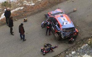 Το φοβερό ατύχημα του Tanak στο Μόντε Κάρλο (VIDEO)