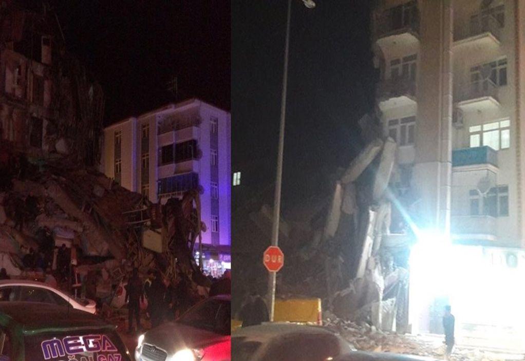 Τουλάχιστον 8 νεκροί από τον σεισμό στην Τουρκία