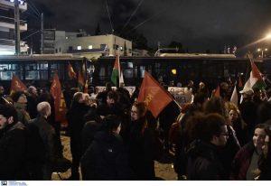 Συγκέντρωση διαμαρτυρίας για επίσκεψη Νετανιάχου (ΦΩΤΟ)
