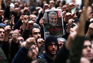 «Θάνατος στην Αμερική» – Πλακάτ στην Τεχεράνη