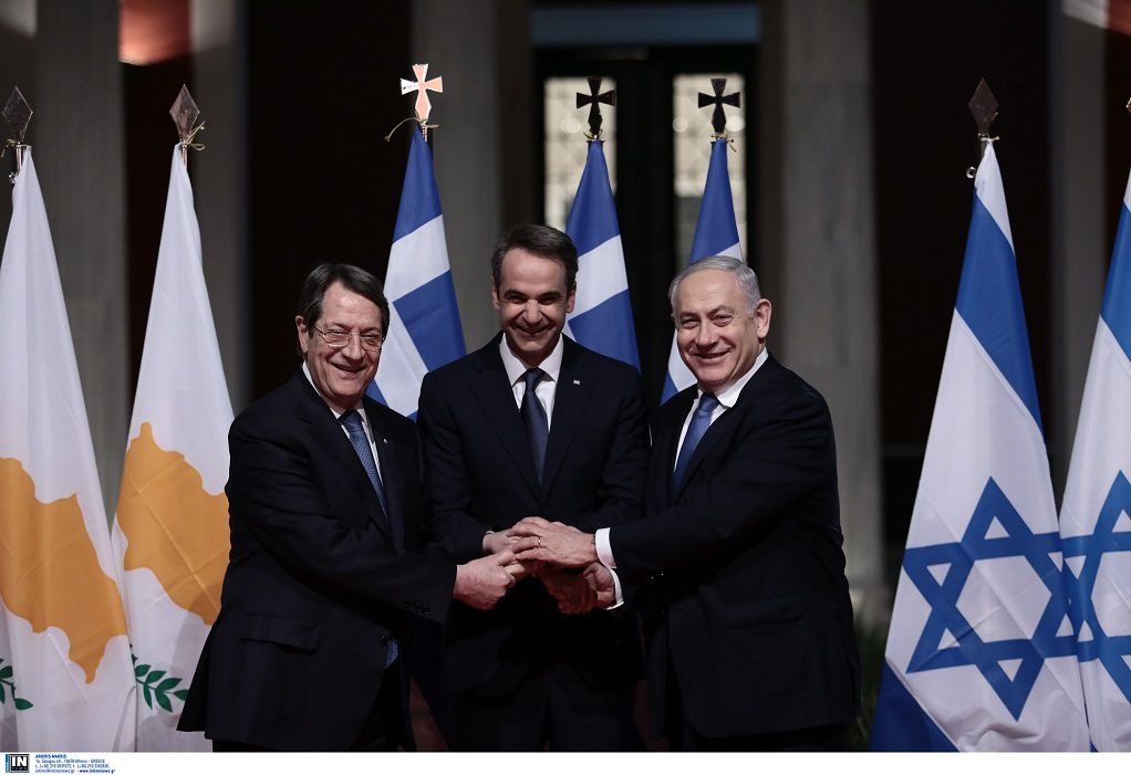 Σε εξέλιξη η τριμερής Ελλάδας-Κύπρου-Ισραήλ