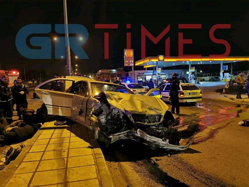 Θεσσαλονίκη: Η ανακοίνωση της ΕΛΑΣ για την καταδίωξη και το τροχαίο