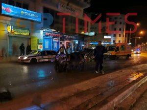 Αποκλειστικό – Η στιγμή της καταδίωξης στην οδό Λαγκαδά (VIDEO)