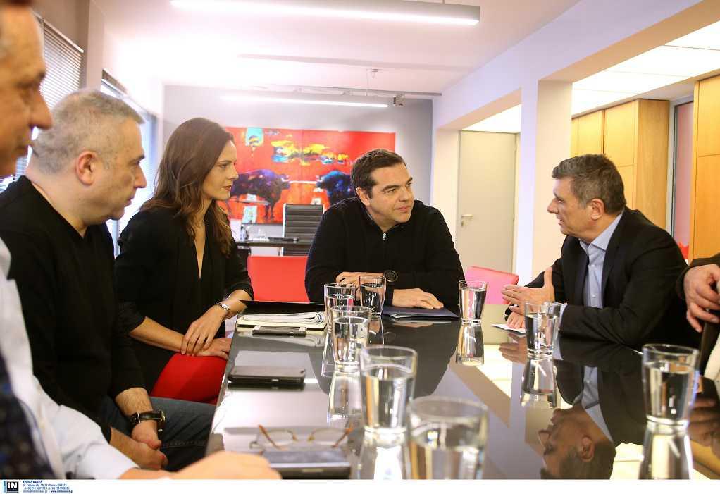 Συνάντηση Α. Τσίπρα με ΟΤΟΕ