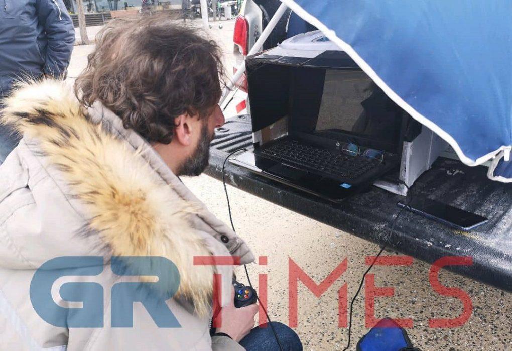 Υποβρύχιο drone για τον καθαρισμό του Θερμαϊκού (VIDEO)
