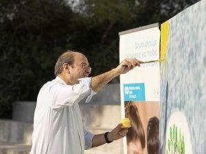 Επίσκεψη Κ. Χατζηδάκη στο Παιδικό Χωριό SOS (ΦΩΤΟ)