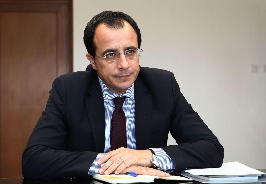 Ν. Χριστοδουλίδης: Η αντίδραση της ΕΕ πρέπει να είναι σταθερή