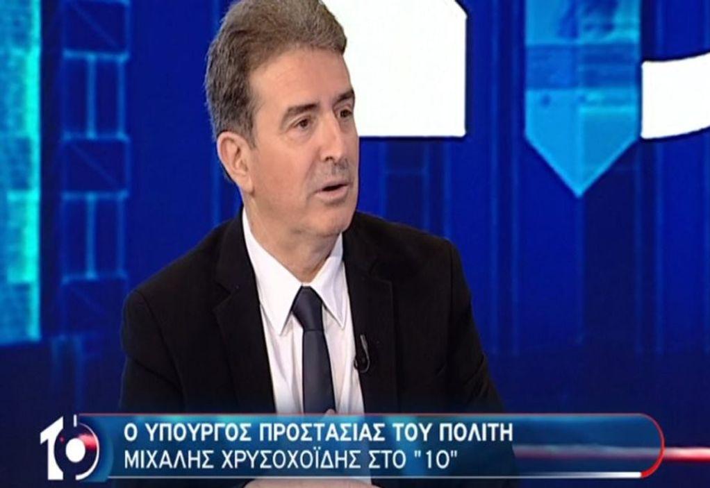 Χρυσοχοΐδης: Παιδιά πλουσίων απέναντι σε αστυνομικούς των 800 ευρώ